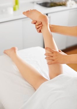 Leg Massage - Touch Works London